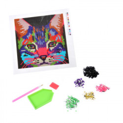 KIT COMPLET DIAMOND PAINTING CHAT