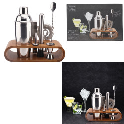 COFFRET A COCKTAIL SUPPORT BAMBOU0
