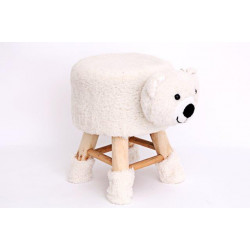CHAISE FORME OURS POUR BEBE 40CM