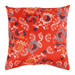 HOUSSE COUSSIN TOPI ROUGE