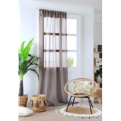 IBIZA VOILE 140X260 TAUPE