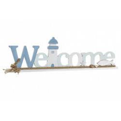 DECORATION WELCOME PHARE MDF CORDE 51X5X
