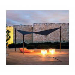 TONNELLE BUTTERFLY ANTHRACITE 3.5X3.5M