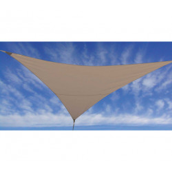 VOILE D'OMBRAGE TAUPE 3X3X3M