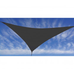 VOILE D'OMBRAGE ANTHRACITE 3,6X3,6X3,6M