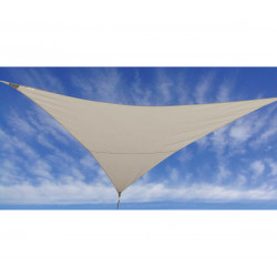 VOILE D'OMBRAGE LIN 3,6X3,6X3,6M
