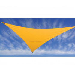 VOILE D'OMBRAGE MOUTARDE 3,6X3,6X3,6M