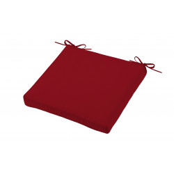 HAWAI GALETTE OUTDOOR 40X40X5 ROUGE