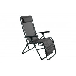 FAUTEUIL RELAX PALAVAS MULTIPO GRIS + TE