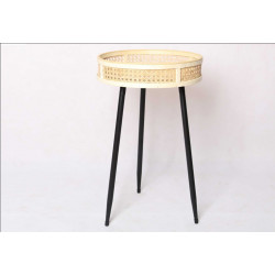 TABLE BASSE D35 H54CM  CANNAGE