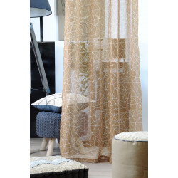 BARKLAY VOILE 135X260 MOUTARDE