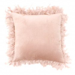 COUSSIN MARLINA NUDE PLUMES 40 x 40 CM