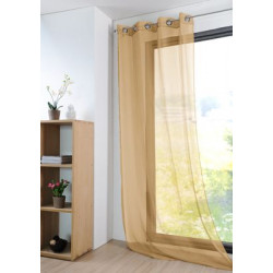MONNA VOILE 135X260 MOUTARDE