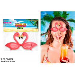 LUNETTES EXOTIC FLAMANTS ROSES